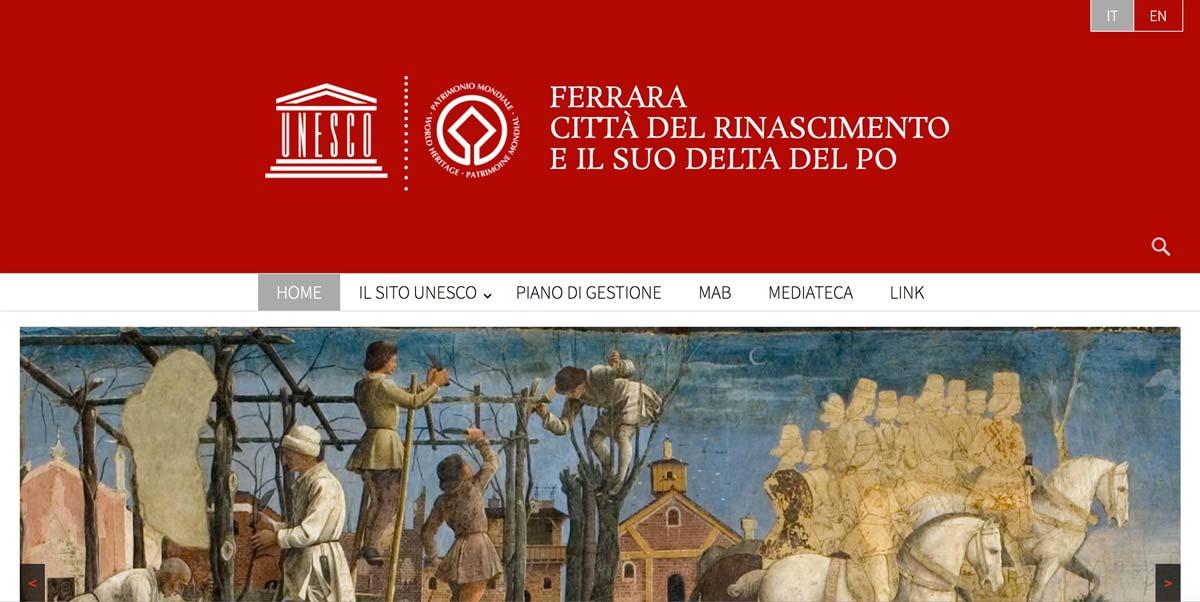 Ferrara Delta Po Unesco